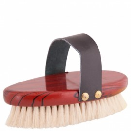 BRUSH PREMIERE BODY MEDIUM GOATS HAIR+LEATHER BAND PU6